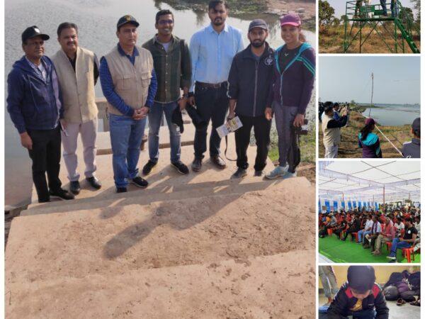 *कोपरा पक्षी महोत्सव ने ग्रामीणों व पक्षी प्रेमियों की भागीदारी के साथ जागरूकता का संदेश दे गया*