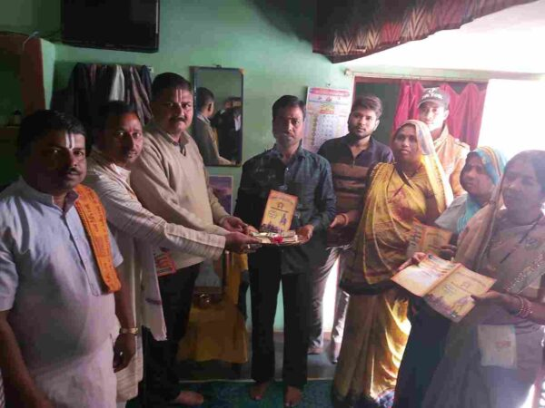 जैतहरी:फुटपाथ पर सब्जी बेंचने वाले ने   श्रीराम जन्मभूमि मन्दिर हेतु दिये 1 लाख 11 हजार रुपये