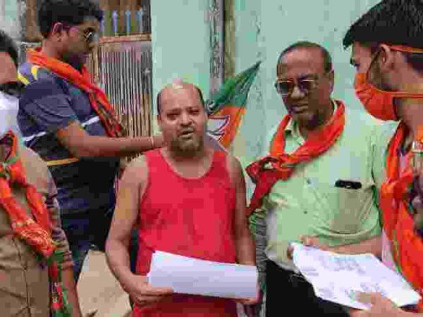 भाजयुमो कोटा ने गांव गांव संपर्क कर लोगों को बघेल सरकार की विफलता को बताया